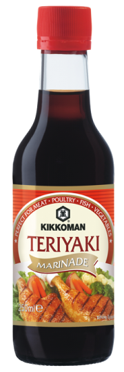 Teriyaki soy sauce